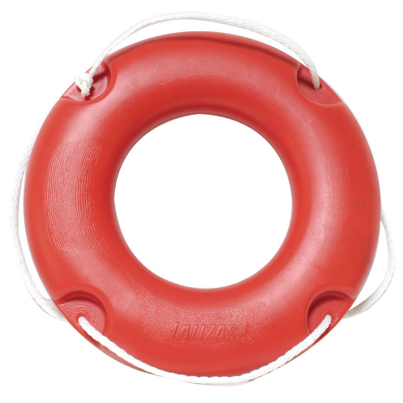 LIFEBUOY RING No. 45 with ROPE