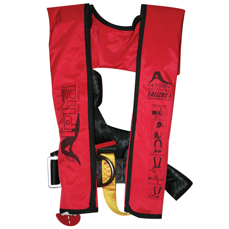 ALPHA INFLATABLE LIFEJACKETS