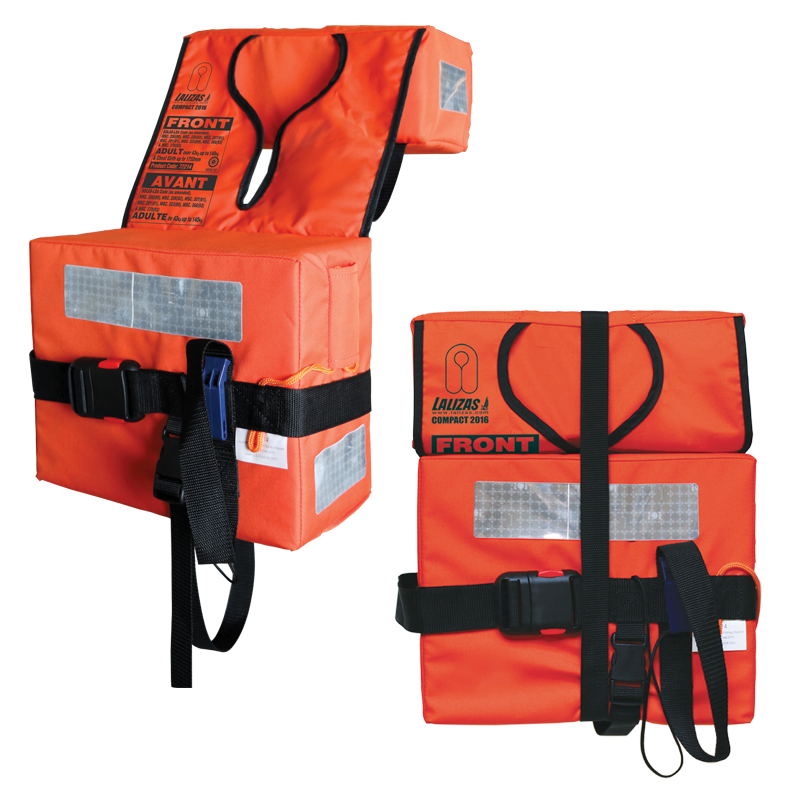 COMPACT FOLDING LIFEJACKET for ADULT