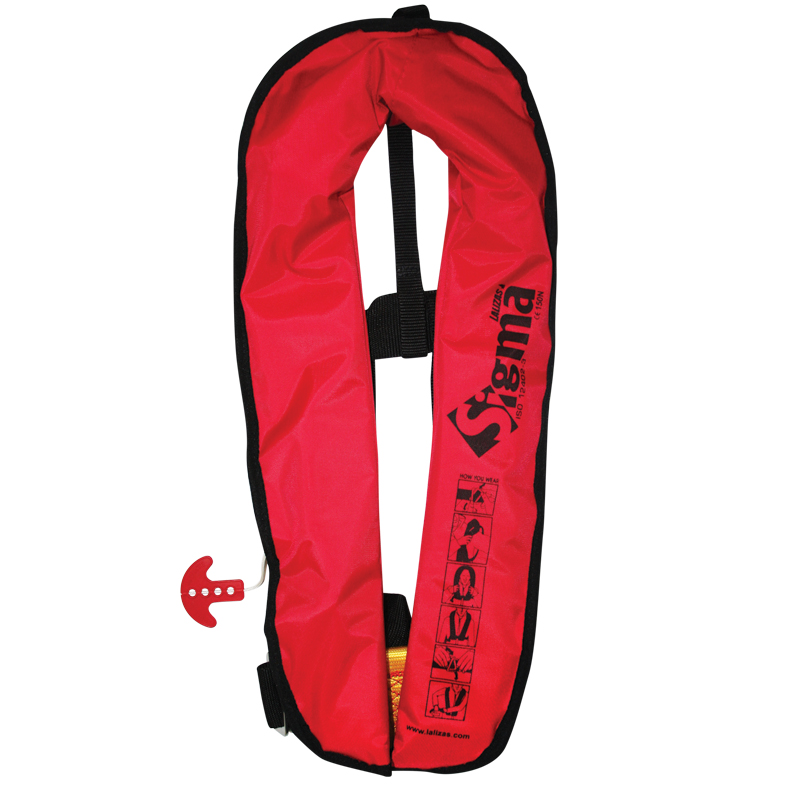 SIGMA INFLATABLE LIFEJACKETS