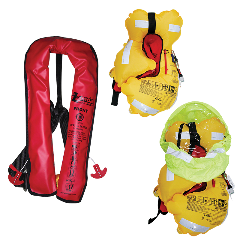 LAMDA  INFLATABLE LIFEJACKET SOLAS