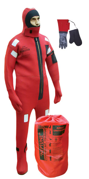 'NEPTUNE' IMMERSION SUITS INSULATED UNIVERSAL SIZE
